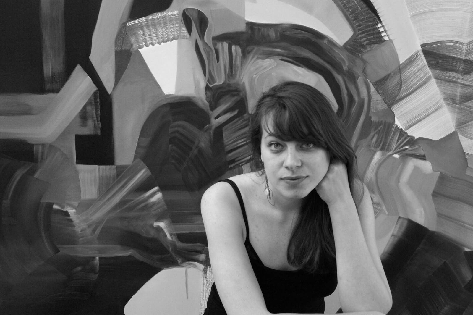 Portrait der Künstlerin